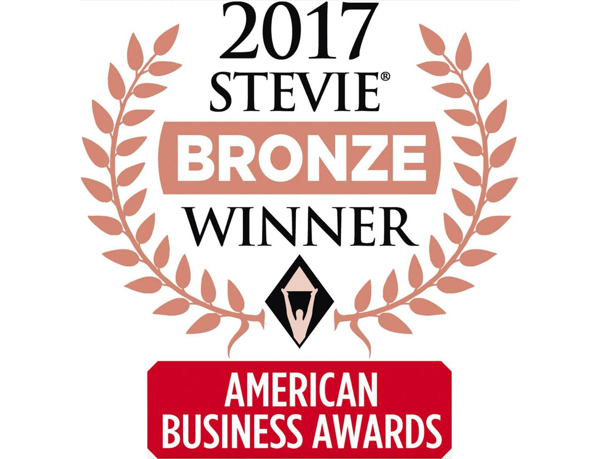 Stevie Award Bronze Winner