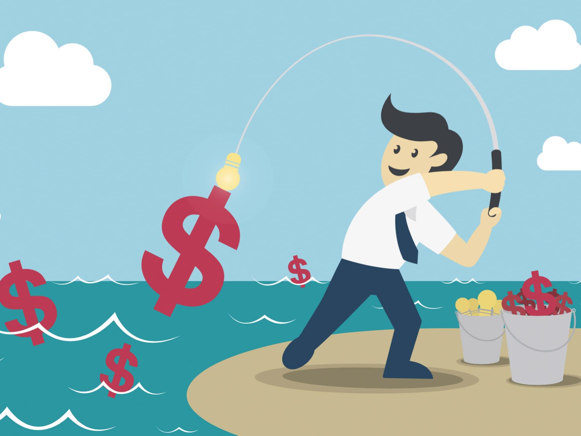 Publishers make money