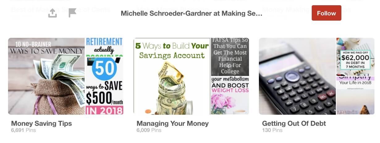 Michelle Schroeder Pinterest