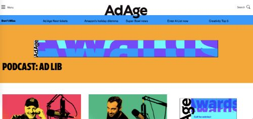 Best Social Media Podcasts: Ad Lib