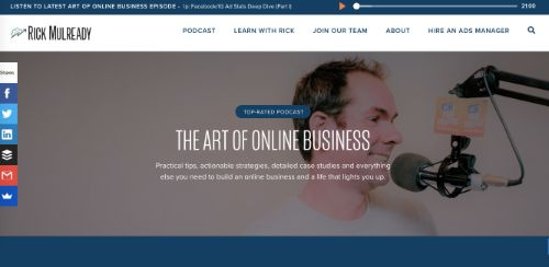 Best Social Media Podcasts: The Art of Online Business