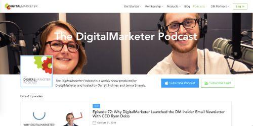 Best Social Media Podcasts: DigitalMarketer