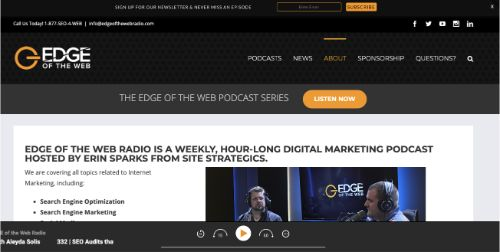 Best Social Media Podcasts: EDGE of the Web