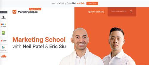 Best Social Media Podcasts: Marketing School