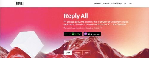 Best Social Media Podcasts: Reply All