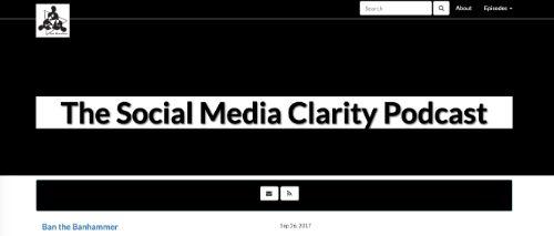 Best Social Media Podcasts: Social Media Clarity