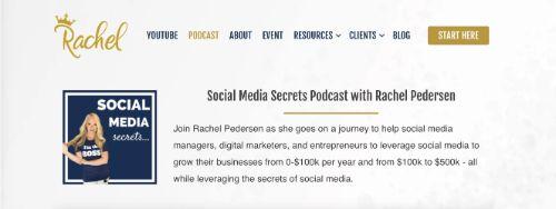 Best Social Media Podcasts: Social Media Secrets