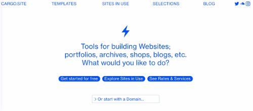 Best Blogging Platforms: Cargo