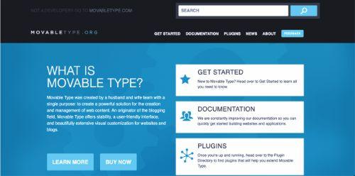Best Blogging Platforms: Moveable Type