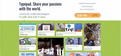 Best Blogging Platforms: Typepad