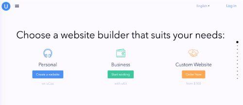 Best Blogging Platforms: Ucoz