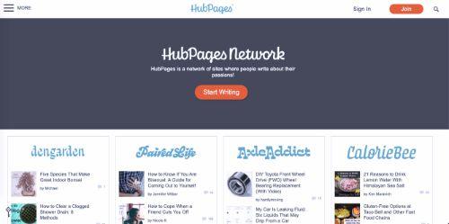 Best Blogging Platforms: HubPages