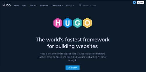 Best Blogging Platforms: Hugo