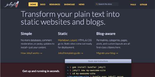 Best Blogging Platforms: Jekyll