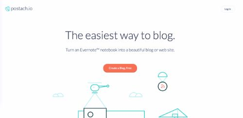 Best Blogging Platforms: Postach.io