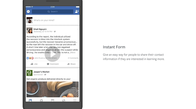 Tips for Using Facebook's Instant Experiences Effectively