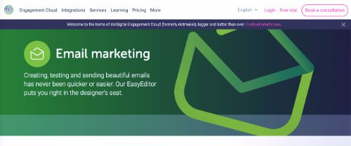 Best Email Marketing Services & Software: dotdigital