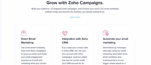 Best Email Marketing Services & Software: Zoho Campaigns