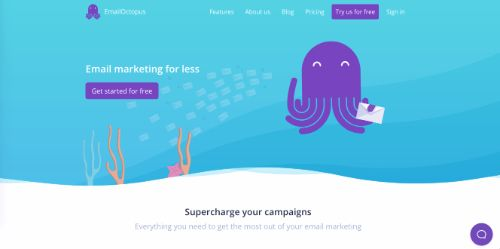 Best Email Marketing Services & Software: EmailOctopus