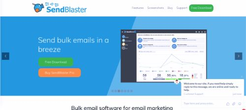 Best Email Marketing Services & Software: SendBlaster