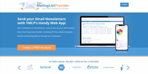 Best Email Marketing Services & Software: YourMailingListProvider