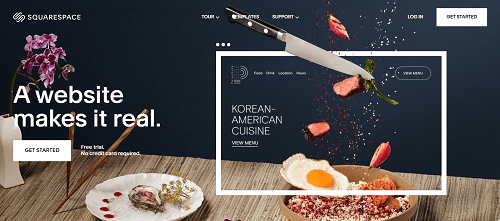 Theme Selection and Design: Squarespace
