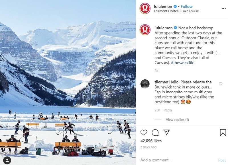 Best Time to Post on Instagram for Likes - Lululemon