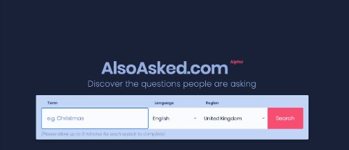 Best SEO Tools: AlsoAsked