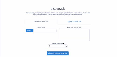 Best SEO Tools: Disavow.it