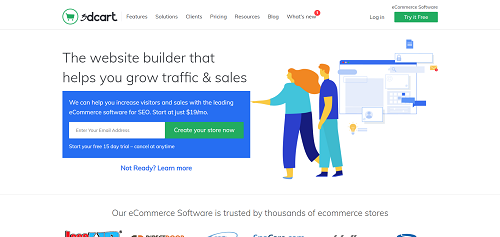 Best e-Commerce Platforms: 3dcart