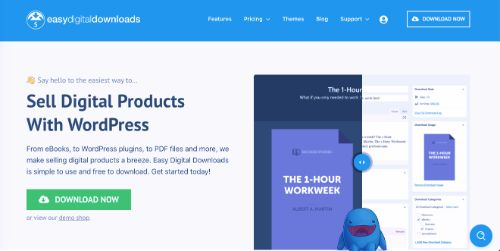 Best e-Commerce Platforms: Easy Digital Downloads