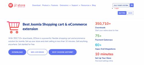 Best e-Commerce Platforms: j2 Store