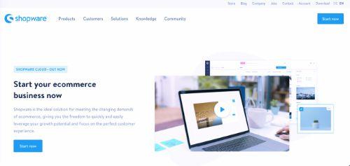 Best e-Commerce Platforms: Shopware