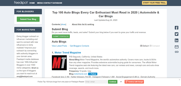How to Start an Auto Blog: 6 Steps to a Money-Making Car Blog