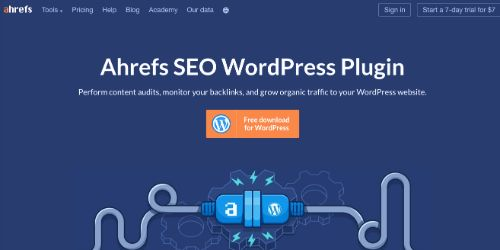 Best Free SEO Tools: Ahrefs SEO WordPress Plugin