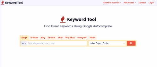 Best Free SEO Tools: Keyword Tool