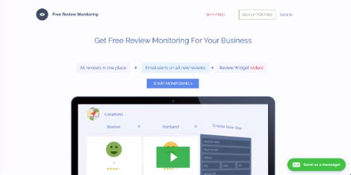 Best Free SEO Tools: Free Review Monitoring