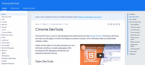 Best Free SEO Tools: Chrome DevTools