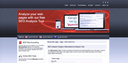 Best Free SEO Tools: SEO Workers Analysis Tool