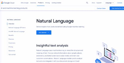 Best Free SEO Tools: Google Natural Language API
