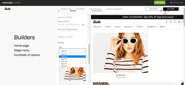 Best Shopify Themes: Shella