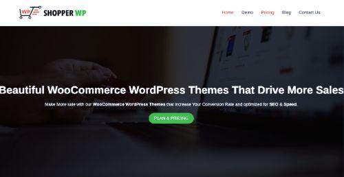 Best WordPress eCommerce Themes: Shopper