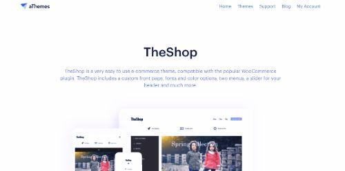 Best WordPress eCommerce Themes: TheShop