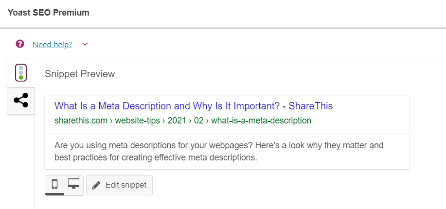 How to Add a Meta Description for Your Site, Posts, and Pages