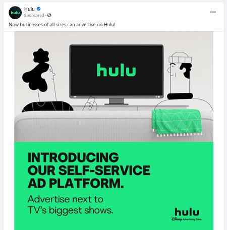 Hulu ad copy example